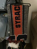 NCAA Syracuse Big Logo Scarf - Orange/Gray