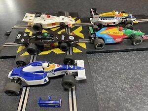 SCALEXTRIC JOBLOT F1 CARS