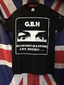 gbh tshirt Midnight Madness &beyond Hardcore Punk Metal Med,large,xl Sizesgilden
