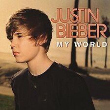 JUSTIN BIEBER 'MY WORLD'  12'' LP VINYL NEW SEALED