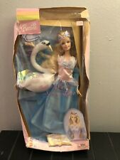 Barbie Of Swan Lake, Fantasy Tales Odette Doll and the Swan, 2003 Mattel B5828