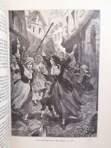 Jules MICHELET Histoire REVOLUTION Francaise LOUIS XVI Bastille In4