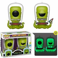 Funko pop the simpsons kang and kodos figure figura vinyl tv disney film