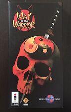 Way Of The Warrior 3DO Naughty Dog Game Panasonic Complete