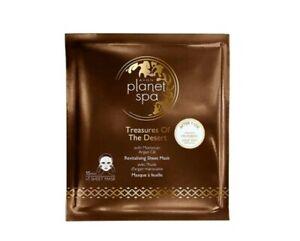 Avon Planet Spa Treasures Of The Desert Argan Oil Revitalising Sheet Face Mask