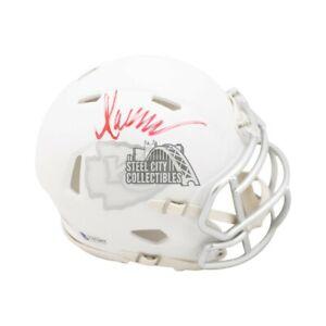 Marcus Allen Autographed Kansas City Chiefs Ice Mini Football Helmet - BAS COA