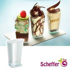 60 x Premium Fingerfood Schalen Scudo 70ml klar eckig Tappas Dippschalen