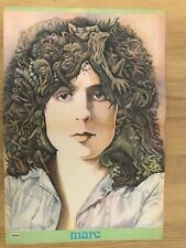MARC BOLAN -Ultra-Rare George Underwood Centrefold Poster from Jackie Magazine