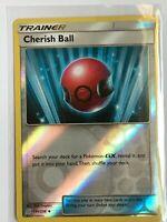 Cherish Ball Reverse HOLO Uncommon Trainer 191/236 SM Unified Minds Pokemon NM