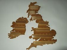36pc U.K. & Ireland  Wooden Thimble Display Racks  ( Pine )( huge range )