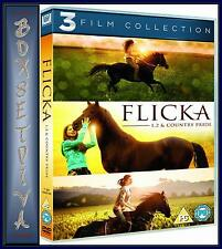FLICKA / FLICKA 2 / FLICKA COUNTRY PRIDE - TRIPLE MOVIE PACK  **BRAND NEW DVD**