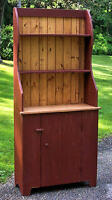 Primitive Handcrafted Royalton Hutch