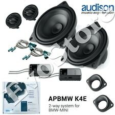 Audison APBMW K4E Kit Casse Altoparlanti 2 Vie per BMW* e MINI* Large Basket