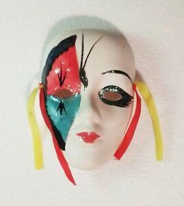 Clay Art Wall Mounting Decorative Face Mask (Small) Beautiful Christmas Gift