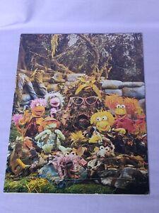 FRAGGLE ROCK 1984 Frame tray JIGSAW puzzle John Sands Vintage Jim Henson Puppet