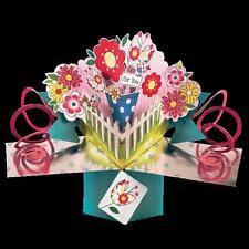 POP064 Second Nature Pops Grusskarte Happy Birthday Glückwunschkarte 3D Karte