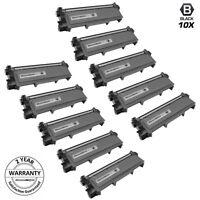 10PK TN660 TN630 High Yield BLACK Toner for Brother HL-L2300 MFC-L2700 DCP-L2520