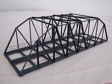 H0 BK30-2 Bogen-/Kastenbrücke 30cm 2-gleisig grau Hack 13750