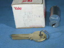 YALE #1210 0-Bitted US26D 626 Satin Chrome TC Keyway Interchangeable Core - NEW