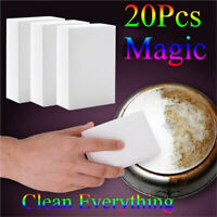 20PCS High Density Nano Magic Cleaning Sponge Kitchen Eraser Stain Removing