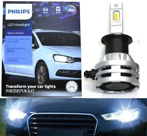 Philips Ultinon LED G2 6000K White H3 Two Bulbs Fog Light Replace Upgrade Lamp