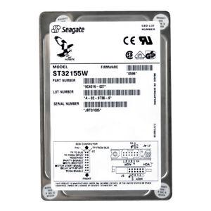 SEAGATE HAWK XL 2.1GB 5.4K SCSI 68PIN 3.5'' ST32155W