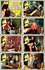 THE GHOST OF FRANKENSTEIN COMPLETE SET OF 8 INDIVIDUAL 8x10 LC PRINTS R-48