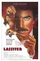 LASSITER MOVIE POSTER ORIGINAL 27x41 MINT 1984 ONE SHEET STEVEN CHORNEY ARTWORK
