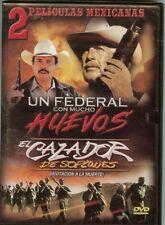 Un Federal Con Muchos Huevos / El Cazador De Sopiones - DVD - NEW