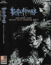 BUSTA RHYMES FEAT. JANET JACKSON WHAT'S IT GONNA BE ?! CASSETTE SINGLE HIP HOP