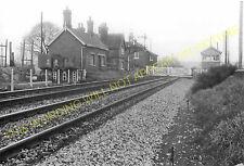 Moreton on Lugg Railway Station Photo. Hereford - Dinmore. Leominster Line. (2)