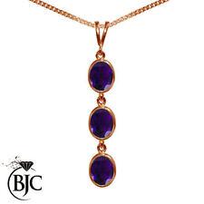Rose Gold Amethyst Fine Necklaces & Pendants