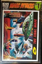 Mars Attacks (2012) #1 #26 The Tidal Wave Card Cover NM- 1st Print IDW Topps