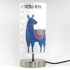 Llama Alpaca Lamp Night Light Lampshade Girls Bedroom Nursery Bedside Table