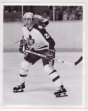 BORJE SALMING TORONTO MAPLE LEAFS ORIGINAL ROBERT SHAVER 8x10 NHL PRESS PHOTO #3