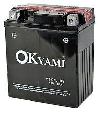 Batteria Okyami YTX7L-BS Honda CB F Hornet - 600 dal 2005 - 2006