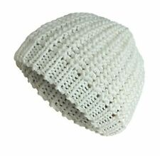 Ivory Beanie Hats for Women