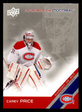 2011-12 McDonald's Upper Deck Canadiens #5 Carey Price (ref 27216)