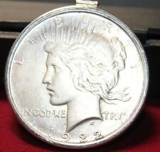1922 Silver US Dollar Liberty Dollars Pendant and Sterling Silve Chain