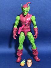 Marvel Legends Spiderman Retro Green Goblin Figure Hasbro 6? Spider-Man Loose