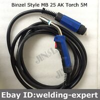 200A 5M 15feet Mig Gun Welding Torch Complete for L-TEC Migmaster 250