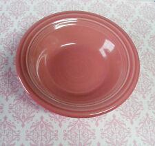 "WOW! 6 1/2"" ROSE PINK Fiesta Soup Bowl FIESTAWARE Homer Laughlin-check out pics!"