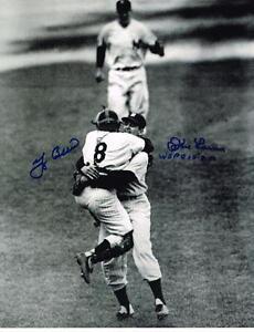 Don Larsen/Yogi Berra  Auto WSPG 11 x 14 Photo Yankees COA