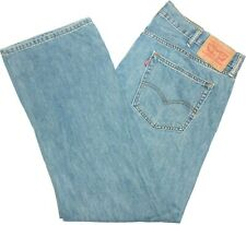 40x32 Levi Strauss 559 Relaxed Straight Blue Jeans Red Tab 100% Cotton Denim