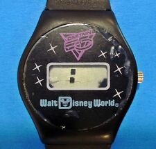 Vintage 1987 Wrist Watch Walt Disney WORLD Captain EO Michael Jackson
