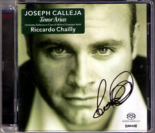 SACD Joseph CALLEJA Signiert TENOR ARIAS Verdi Cilea Donizetti Puccini CHAILLY