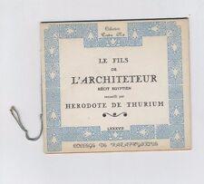 (162B) Collège de pataphysique / Traître Mot / Le fils de l'architeteur