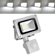 10W LED Fluter SMD mit Bewegungsmelder Außen Strahler Flutlicht IP65 Kaltweiß A+