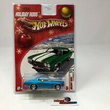 '70 Chevelle SS * Blue * Hot Wheels Holiday Rods * Q67