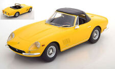 Ferrari 275 Gtb4 Nart Spyder 1967 Yellow 1:18 Model KK SCALE